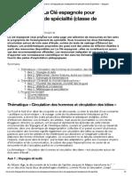 Ressources de La Clé espagnole pour l'enseignement de spécialité (classe de première) — Espagnol