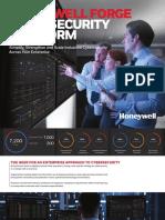 Honeywell Forge Cybersecurity Platform (Brochure)