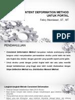 CONSINTENT DEFORMATION METHOD UNTUK PORTAL.pptx