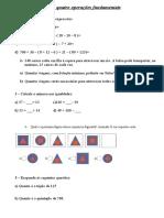 Exercicios de Matematica Para Casa-coronavirus 6 Ano
