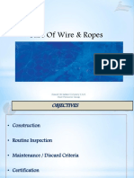 Care Of Wires  Ropes