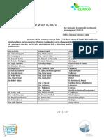 COMITE DE COORDINACION
