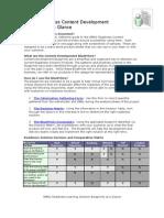 3 - Content Development Blueprints