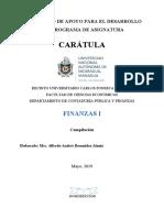 DOCUMENTO DE APOYO Finanzas I Unidad III
