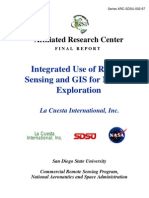 Remote Sensing and GIS for Mineral Exploration