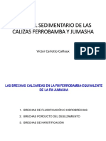 Calizas Ferrobamba y Jumasha
