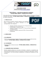 REGULAMENTO CONCURSO DE REDAÇÃO E DESENHO (1)