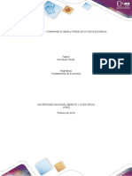 Unidad 1 Tarea 2 - Comprender el objeto y método de la Ciencia Económica
