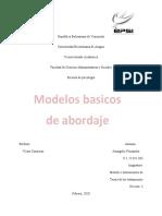 Modelos básicos de abordaje