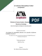 ¿Son distintas las oportunidades laborales de los egresados de diferentes modalidades educativas? Un estudio de caso sobre egresados de psicología de la UNAM
