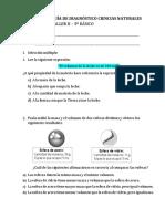 GUÍA DE DIAGNÓSTICO CIENCIAS  NATURALES 5