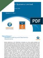 PersistentSystems_Analyst_Presentation_Q2_FY11