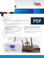 T PRO 4500 Transformer Protection Relay Ds.en.Es
