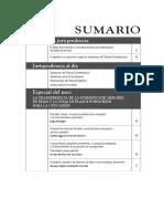 Sumario - Diálogo con la Jurisprudencia N° 258