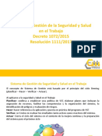 Sistema de Gestion SST - Decreto 1072 presentacion