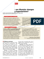 How Effective Lifestyle Changes