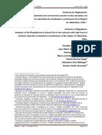 Carrasco, C. et al. Violencia de Reglamento