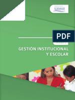 Modulo 2 GESTIÓN ESCOLAR E INSTITUCIONAL