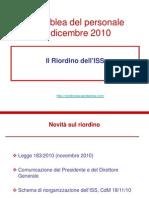 Assemblea ISS del 10.12.10 - Riordino