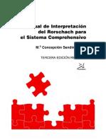 Manual de interpretacion del Rorschach para el Sistema Comprehensivo - Concepcion Sendin.pdf