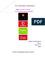 Telecomunicații-Economie