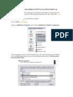 Ftp in Windows Xp