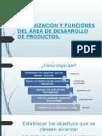 ORGANIZACIÓN Y FUNCIONES DEL ÁREA DE DESARROLLO DE