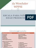 WPPSI presentción