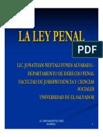 2.6 LA LEY PENAL