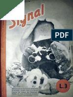 Signal / 1943/01/2 / Getarnt im Schnee des Niemands-landes