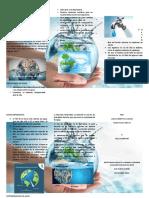 folleto  AGUA 2