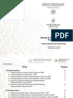 Informe IncidenciaDelictiva Fuero Comun Febrero 2020