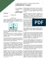 Articulo Criterio de la estabilidad de Nyquist