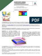 guía de español 8°