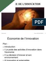 Économie de l innovation. Nicolas Laroche Licence 3 APE Année 2009_2010 1