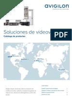 Avigilon Product Brochure - Spanish