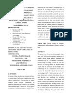 DETERMINACION DE LAS DERIVAS, FACTORES DE IRREGULARIDAD Y FUERZA DE CORTANTE BASAL, PARA EL ANÁLISIS DINÁMICO DE UN EDIFICIO MULTIFAMILIAR DE 6 PISOS SEGÚN LA NORMA TÉCNICA E.030 DE DISEÑO SISMORRESISTENTE