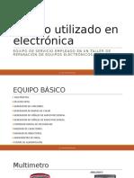 Equipo utilizado en electrónica (1)