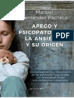 Apego y psicopatolog+¡a_ la ansiedad y su origen - Manuel Hern+índez Pacheco