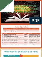 Procesos cognitivos en la construcción de nuevos aprendizajes DH