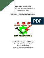 14. Rencana Strategis LSP 5 tahun