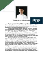 The Biography of Ustadz Abdul Somad