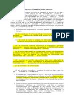 CONTRATO DE PRESTAÇÃO DE SERVIÇOS GERAIS ENTRE EMPRESAS Modelo