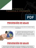 Ortodoncia Preventica e Interceptiva
