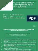 Patrimonio como representación colectiva. La intangibilidad de los bienes culturales. (1)