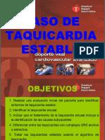 CASO DE TAQUICARDIA ESTABLE
