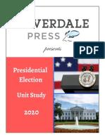 Presidential Election Sample Lesson Plane