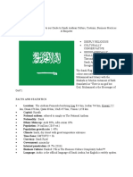 Business Culture and Practices of Saudi Arabia.docx