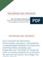 SEGURIDAD DEL PACIENTE 2019