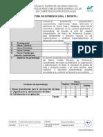 Expresión Oral y Escrita I